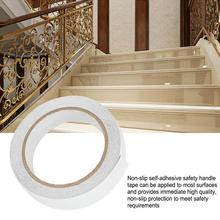 2 Pcs Anti-Skid Tape Stair Sticker Self-Adhesive Oil-Proof Water-Proof Warning 25mmx5m multifunction  tape no residue n