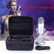 Portable Hard EVA Carrying Case Travel Storage Bag for Blue Yeti Pro USB Microphone Accessories