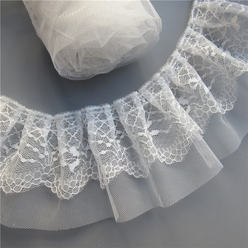 SALE SALE FRILL SHEER RIBBON CRAFT DRESS MAKING SEWING 15MM WIDE