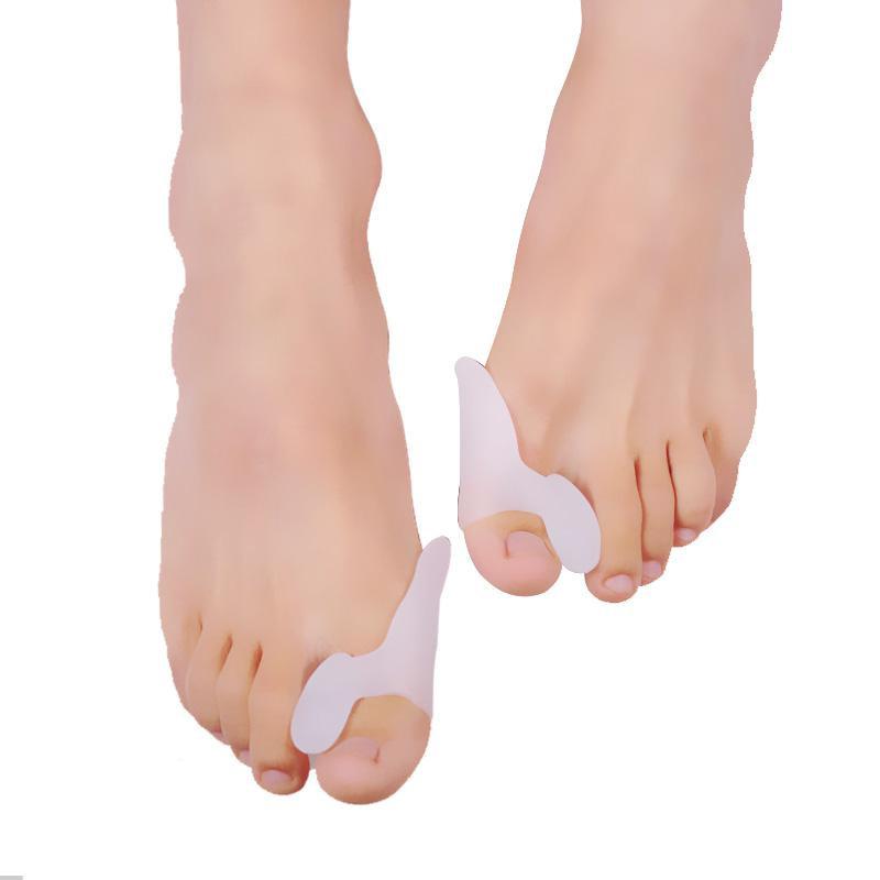 2 PCS = 1Pair Foot Care Gel Tool Bunion Corrector Bone Toe Big Spreader Straightener Hallux pedicure Toe Valgus Protector Z7F5