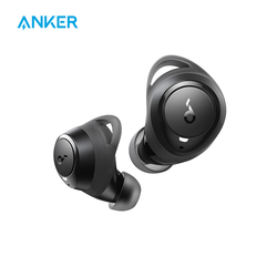 Soundcore by Anker Life A1 True Wireless Earbuds, Powerful Customized Sound, 35H Playtime, Wireless Charging, USB-C Fast Charge