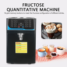 Fructose Liquid Dosing Machine Sugar Dispenser Syrup Quantitative Commercial Drink Use hot sale commercial use latest product drink smoothie machine slush machine with ce