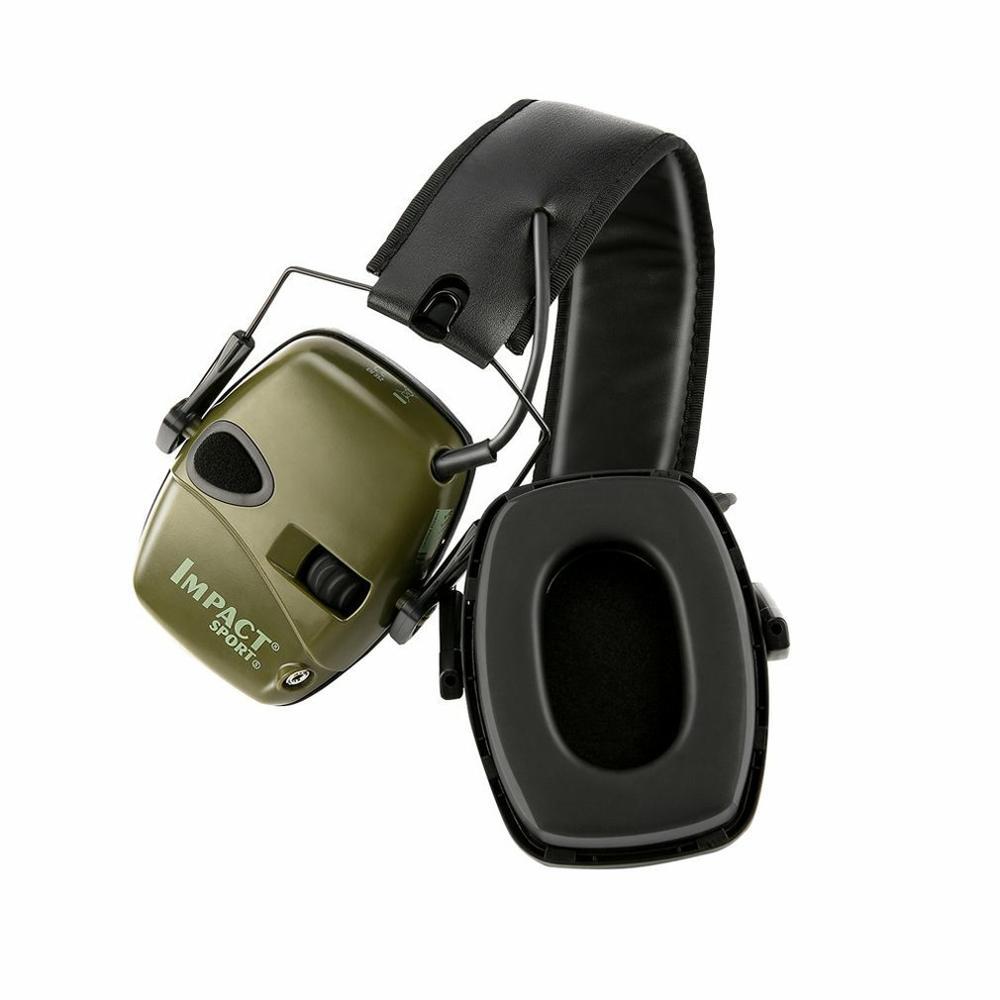 Горячая тактическая электронная съемка наушник Спорт на открытом воздухе Анти-шум гарнитура ударное Усиление звука слуха Защитная гарнитура-3