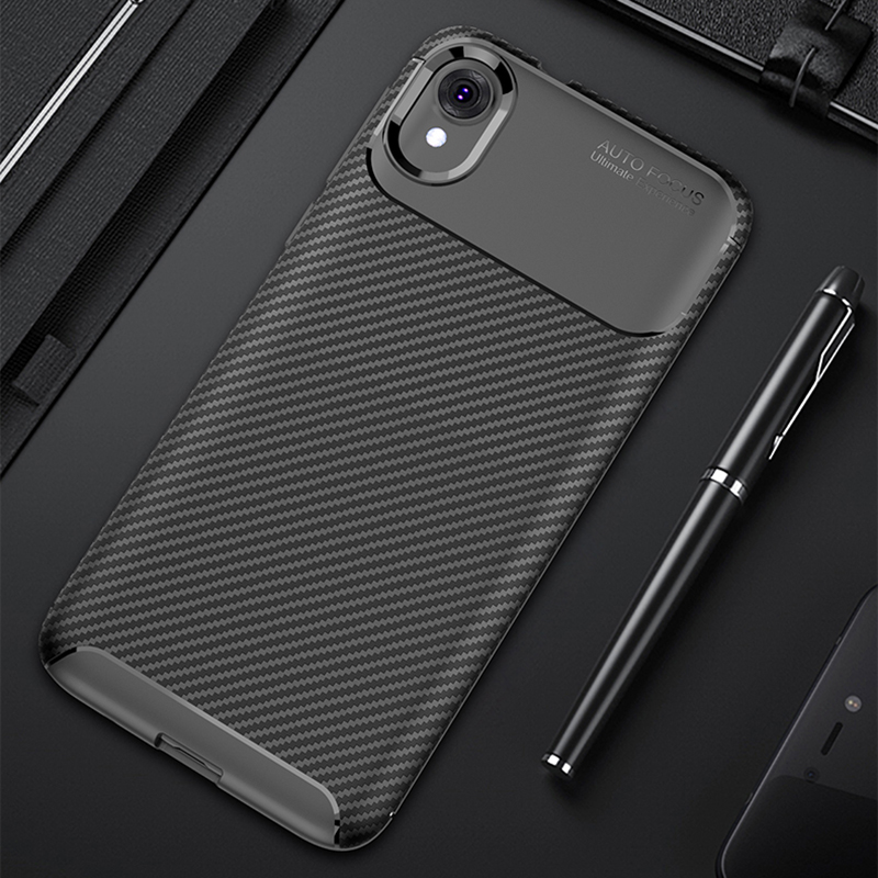 New Carbon Phone Back Cases For MOTO E6 G6 G7 Plus Power Case Z3 Z4 E5 Play GO P30 P40 Note One Vision Cover Silicone Protective