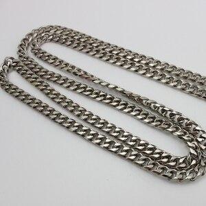 Image 5 - סיטונאי 10 מטרים 10mm 12mm רוחב, גבוהה עבה שרשרת מתכת רצועת לסדנה ביצוע תיק תיק שרשרת נשלף ארוך שרשרת