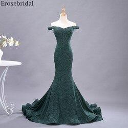 Erosebridal 2020 новое модное платье Русалка для выпускного вечера длинное гибкое платье с открытыми плечами длинное простое стильное платье на мо...