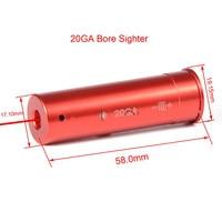 Ponteiro tático tático da bala da mira do laser vermelho 7x57 5.45x39 7.62x39 20ga. 308 .222 .45 7mm 9mm calibre cartucho