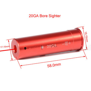 Tactical Red Laser Sight Bulle