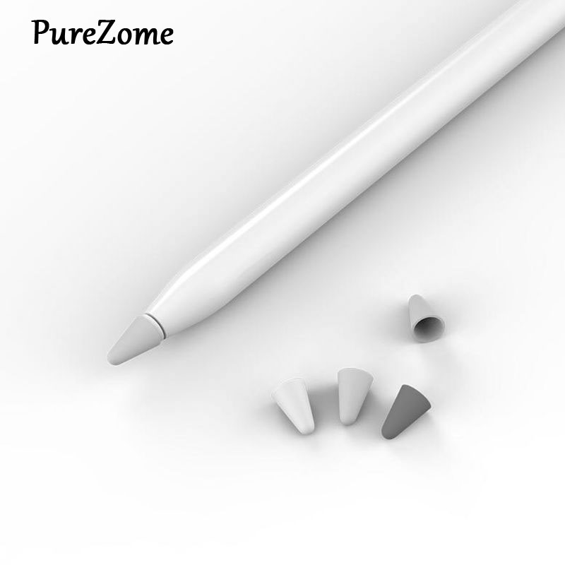 8pcs Silicone Replacement Protective Tip Case Nib Cover Skin For Apple Ipad Pencil 1st 2nd Stylus Touchscreen Pen