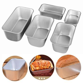 Rectangular Baking Tools Multi Size French Bread Non-stick Aluminum Alloy Kitchen Baking Mold DIY Cake Tool image
