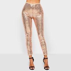 Pailletten Leggings Vrouwen Lente 2019 Fashion Shiny Sexy Casual Broek Stretch Fitness Plus Size Straat Club Hoge Taille Leggins