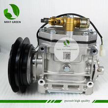 A/C AC Air Conditioning Compressor Cooling Pump PV1 For Mitsubishi Fighter Truck R404A FK337D553073 ACA200A007A ME121066 24V цена и фото