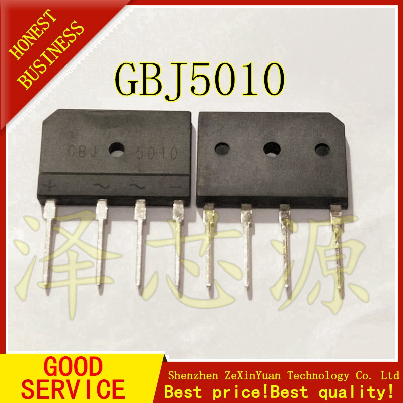 KBJ5010 GBJ5010 5010 50A 1000V BRIDGE RECTIFIER