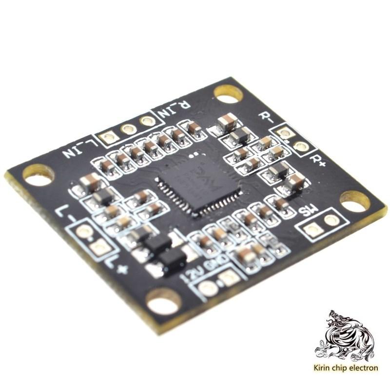 10PCS/LOT Pam8610 Digital Power Amplifier Board 2x15w Dual Channel Stereo Class D High Power Power Power Amplifier Board Micro