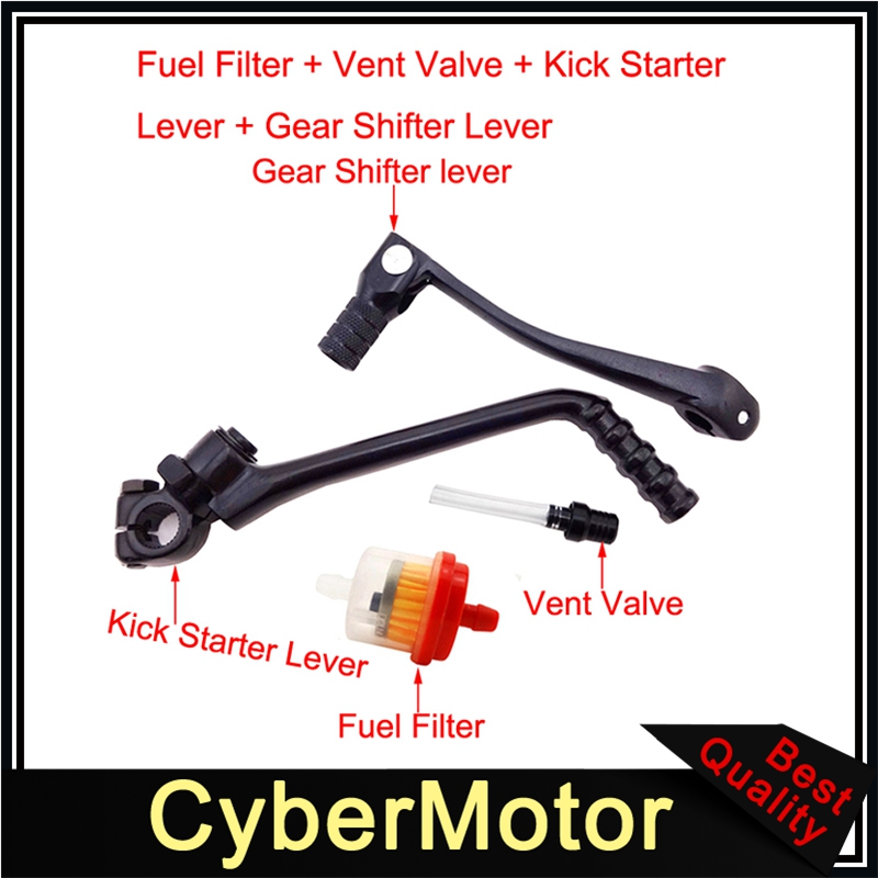 Tank Cap For Pit Dirt Bike 110cc 125 140cc SSR Stomp YCF SDG Gear Shifter Lever