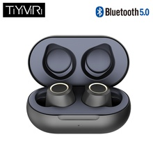 Auriculares intrauriculares inalámbricos TWS Twins Bluetooth 5,0 con doble Micr para iPhone X Samsung