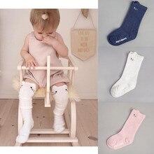 Мода милый ребенок девочка носки дети девочки малыш мультфильм животное гольфы высокие носки хлопок новорожденный младенец ребенок девочка носки Рождество