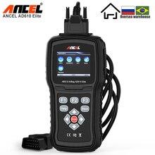 ANCEL AD610 Elite Professionelle OBD2 Automotive Scanner ABS Airbag SAS Auto Diagnose Werkzeug OBDII EOBD Code Reader Kostenloser Update OBD