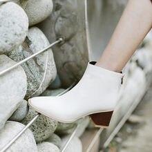 Donna Genuino di Cuoio Della Caviglia stivali di pelle di mucca Europa e gli stati Uniti breve stivali Fatti A Mano di modo Classico delle donne di inverno fa
