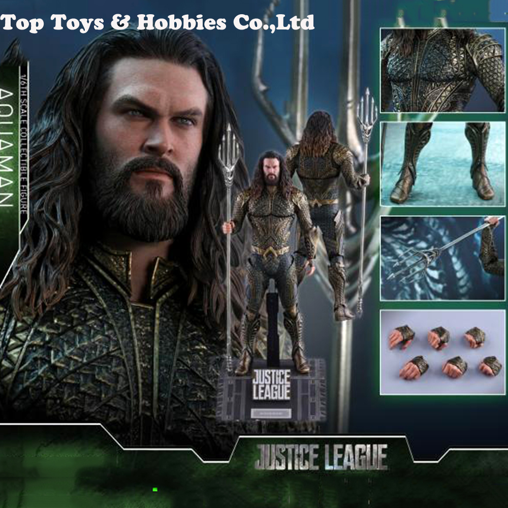 Full set figure HotToys MMS447 1/6 Scale Aquaman Jason Momoa Action Figure doll toys for fans Collection Gift