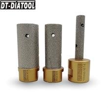 Embouts de meulage de connexion M14 en diamant brasé, 10/20/25mm, 1 pièce, pour carrelage, céramique, porcelaine
