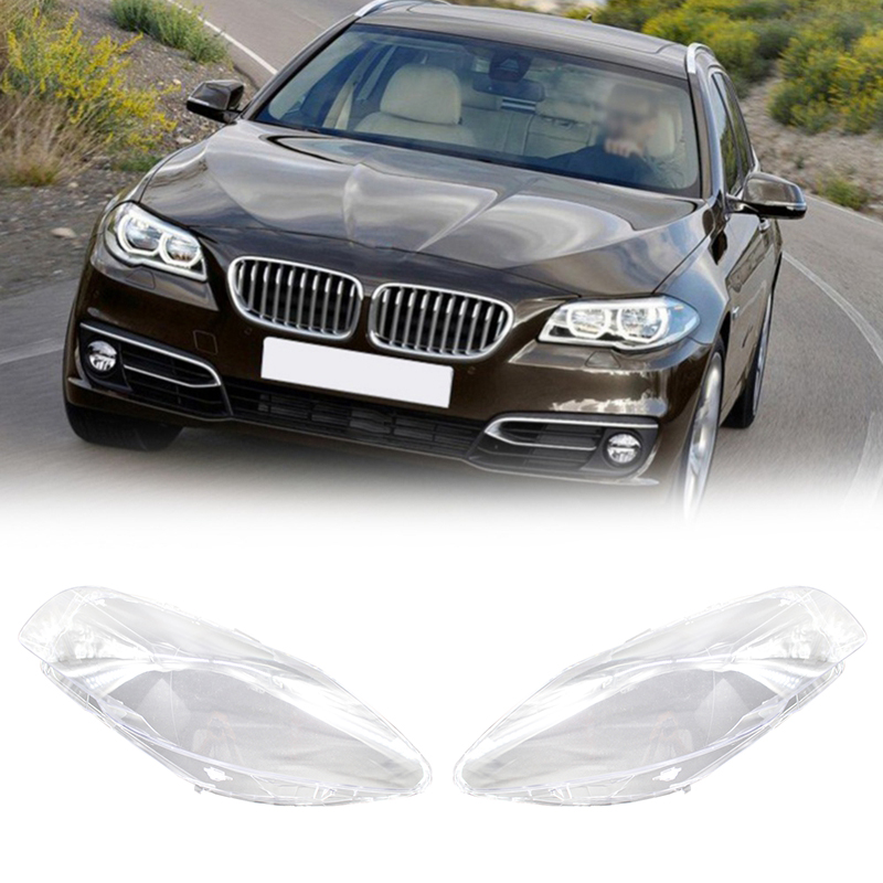 Car Headlight Lens Glass Lampcover Cover Lampshade Shell Auto Products For BMW F10 LCI F18 528i 530i 535i 2010-2014 Oc14