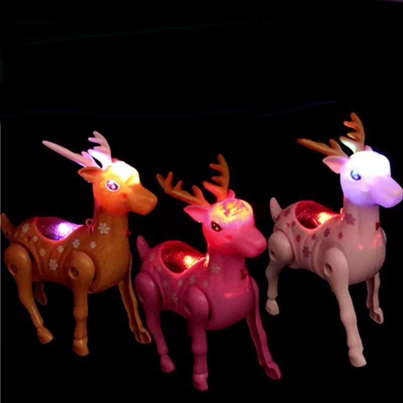 Bay Kai Odd Douyin Celebrity Style Electric Leash Sika Deer Shining Deer Bracing Wire Concert Walk Electric Toys