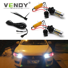 1Set Canbus T20 WY21W PY21W BAU15S Car LED Turn Signal Bulb DRL Daytime Running Light For avensis t25 wish tundra camry 40 verso адаптеры для автокресел bobostello multi amcs