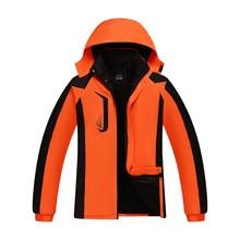 Waterproof outdoor sports plus velvet thick autumn and winter plus size cotton men's models