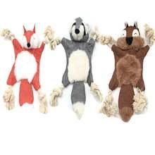 Игрушки для домашних животных мягкие игрушки жевания плюшевые