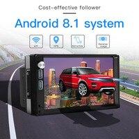 Car Radio Android 8.1 Autoradio 2 din MP5 GPS Stereo Receiver 2din Car Stereo Audio Radio Para Coche MirrorLink Wifi Rear Camera