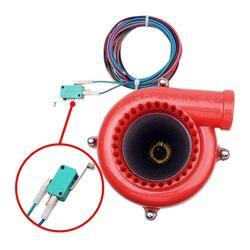 Uniwersalny elektroniczny Turbo zawór bezpieczeństwa dźwięk elektryczna Turbo cios odcinający analogowy dźwięk BOV samochód fałszywe zawór zrzutowy