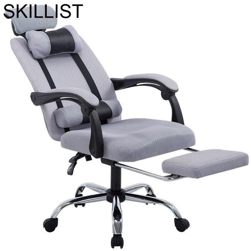 Bureau de chefe Camiseta Móveis Banquinho Taburete Sedia Sandalyeler Ordinateur Gamer Poltrona Cadeira Silla Gaming Cadeira Do Escritório