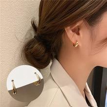 Stud Earrings for Women Korean Simple Metal Mini Earrings Jewelry Accessories Wholesale