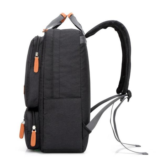Mężczyźni plecak na co dzień biznesowy Notebook plecak światła 15.6-cal torba na laptopa z zabezpieczeniem przeciw kradzieży plecak plecak podróżny szary sac a dos