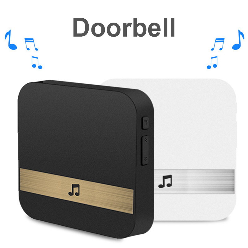 Wireless Wifi Smart Video Doorbell 433MHz Music Box Music Receiver Door Bell Home Security Intercom VDX99