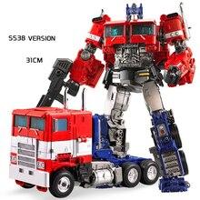 Transformación weijiang MW 31cm alto KO MPP10 SS38 figura de acción juguetes aleación OP comandante de juguete de gran tamaño