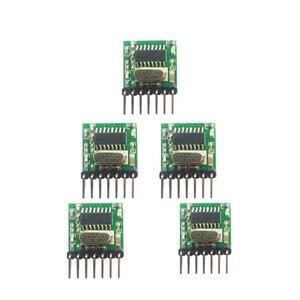 Image 1 - 5 個 433 315mhzスーパーヘテロダインrfワイヤレス送信機モジュール 1527 エンコーディングEV1527 コードワイド電圧 3v 24 リモコン用