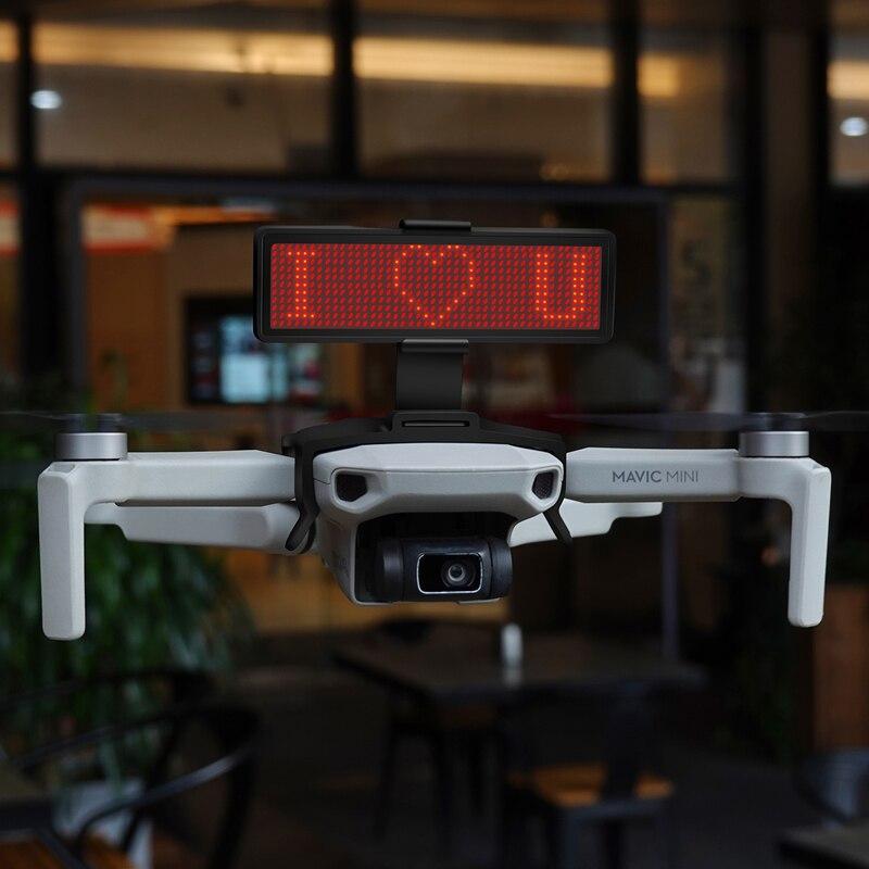For Mavic Mini LED Display Screen Kit With Bluetooth Editing Text Pattern For DJI Mavic Mavic Mini Drone Expansion Accessories