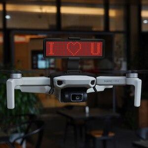 Image 1 - ل Mavic شاشة عرض ليد صغيرة مجموعة أدوات الشاشة مع بلوتوث تحرير النص نمط ل DJI Mavic Mavic طائرة صغيرة بدون طيار التوسع الملحقات