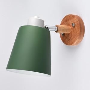 Image 3 - Lámpara de pared LED nórdica, creativa, para comedor, restaurante, pasillo, cafetería, dormitorio