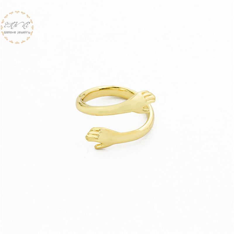 Stereoscopic New Retro Punk Exaggerated Snake Ring Fashion Personality Opening Adjustable Jewelry
