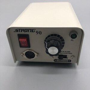 Image 3 - Электрическая маникюрная машинка для маникюра и педикюра Strong 210, 102 л, 65 Вт, 35000 об/мин