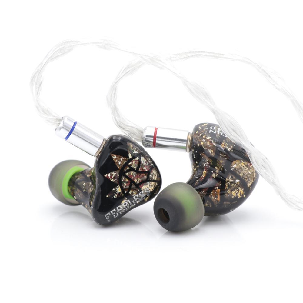 Intrépido Audio paladín serie Roland lancelote La Hire controlador electrostático en Monitor de oreja BA híbrido HiFi auricular IEM