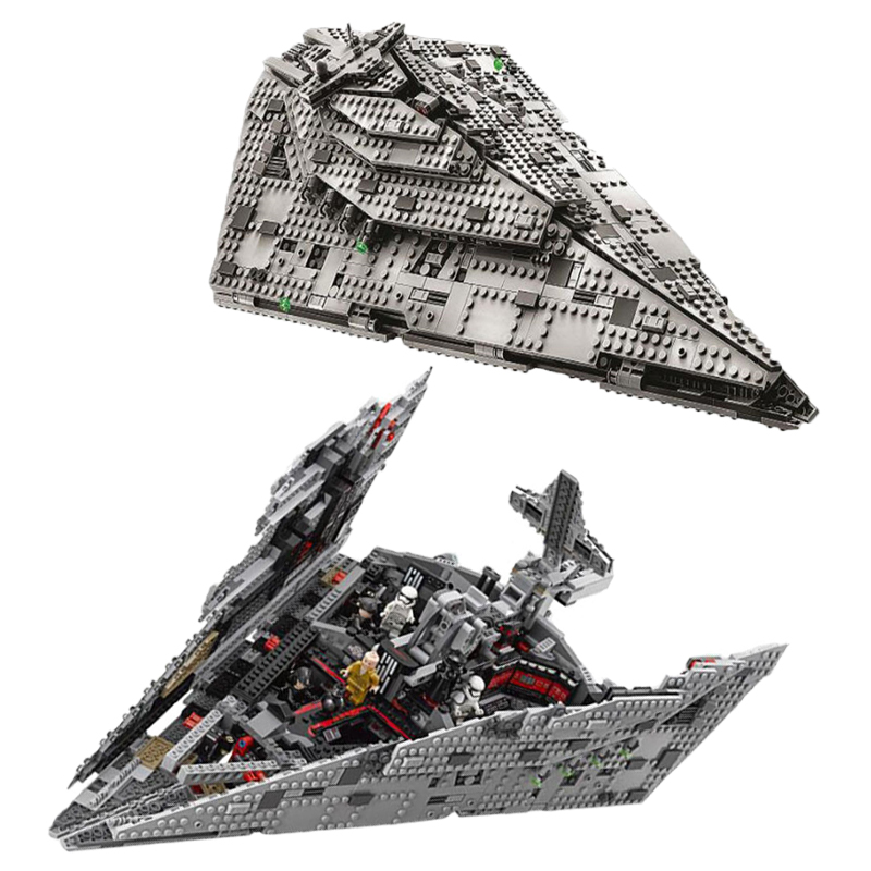 new-first-order-star-wars-destroyer-model-y-wing-fighter-building-block-bricks-toys-with-font-b-starwars-b-font-75256-75249-lepining
