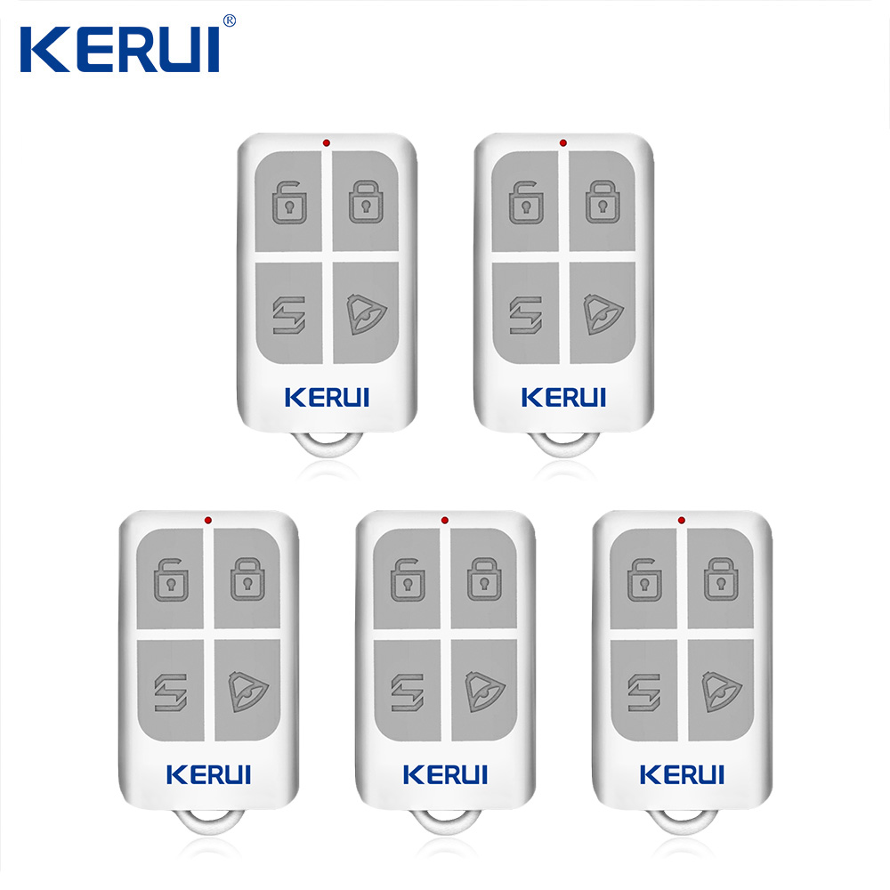KERUI RC531Remote Controller Wireless Portable Remote Control Kit   Alarm Accessories For Home Security Alarm System  Keypad