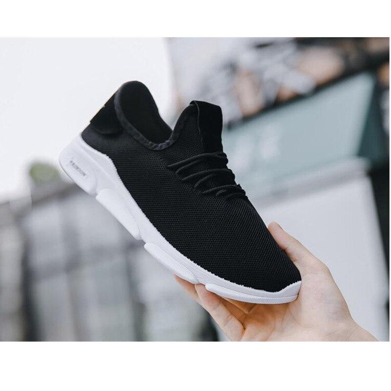 2019 Zomer Nieuwe Mannen Schoenen Lac up Mannen Casual Schoenen Lichtgewicht Comfortabele Ademend Paar Wandelen Sneakers Feminino Zapatos - 5