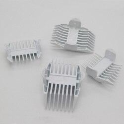 4 sztuk wymiana maszynka do włosów grzebień dla Philips HC1055 HC1066 HC1099 HC1088 1mm-1mm9 3mm-6mm 9-12mm 15-18mm trymer do włosów