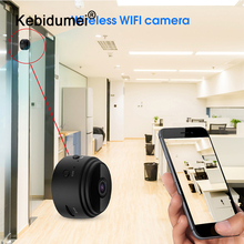 Videocámara A9 con visión nocturna, videocámara redonda de 1080P, WiFi, minicámara IP con Control remoto, grabadora de vídeo de succión, cámara DV deportiva