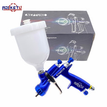 Spray-Gun Light Paint Atomization-Sprayer Automobile Aluminum ROLKETU Perfect Magnesium